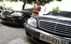 Từ 1-1-2014: tịch thu ô tô biển ngoại giao chưa sang tên
