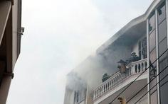 Cháy tại trung tâm bảo hành bếp gas Rinnai