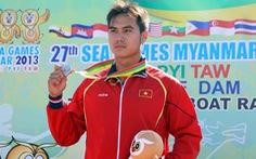 Nguyễn Thành Quang giành HCB đua thuyền K1 500m
