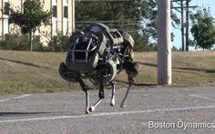 Google mua lại công ty chế tạo robot quân sự