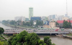 Khởi công làm đường dưới dạ cầu Điện Biên Phủ
