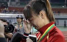 Nỗi buồn thua trận của đội tuyển nữ VN