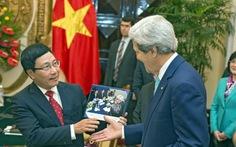 Tối nay 12-1, Ngoại trưởng Mỹ John Kerry đến Hà Nội
