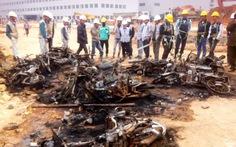Bắt 4 người gây rối ở nhà máy Samsung Thái Nguyên