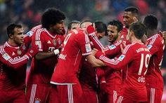 Bayern Munich đại thắng E.Frankfurt