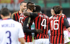 Balottelli lại cứu AC Milan