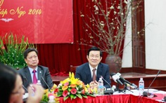 Chủ tịch nước dự Lễ cầu an đầu năm với các dân tộc