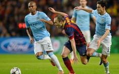 Messi, Iniesta, Alves và Kompany được chấm điểm cao nhất
