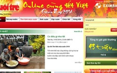 25 tác phẩm thơ, ảnh, clip đoạt giải Online cùng tết Việt