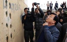 Bộ trưởng Bộ Xây dựng thị sát vết nứt cây cầu 3.600 tỷ