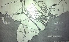 Bản đồ tại khu di tích Vàm Nhựt Tảo sớm được thay thế