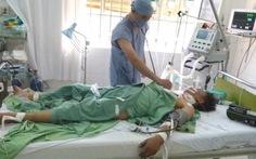 Cứu sống bệnh nhân bị cần cẩu đè vỡ tim