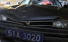 Hai người tử vong do tông xe với giám đốc công ty điện lực