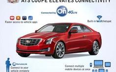Caddilac và Audi tiên phong ứng dụng công nghệ 4G/LTE trên ôtô