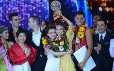 Ngân Khánh, Thu Thủy chia nhau giải vàng Bước nhảy hoàn vũ