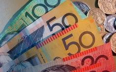 Kinh tế thế giới đầu tuần: đôla Úc lại xuống giá