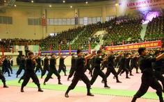 Mãn nhãn với những màn biểu diễn võ thuật của công an