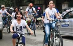 Hà Nội: nhiều trẻ em kêu gọi hưởng ứng Giờ Trái đất