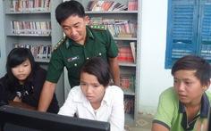 Lớp tin học ở đảo Thiềng Liềng