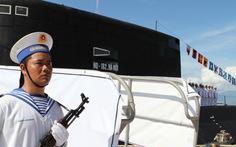 Thượng cờ cấp quốc gia hai tàu ngầm Hà Nội và TP.HCM