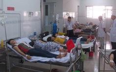 Khí gas tràn ngập xưởng, 12 công nhân nhập viện