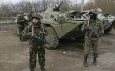 Máy bay, xe tăng Ukraine đã tấn công lực lượng ly khai