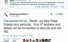 Dọa khủng bố máy bay trên Twitter, cô bé 14 tuổi bị bắt