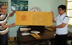 Phát hiện bản chế phong của vua Hàm Nghi