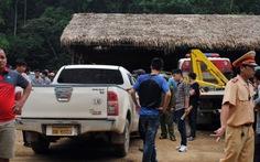 Lùng sục, tìm bắt tài xế xe biển số Lào đâm xe CSGT