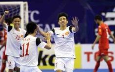 Futsal VN tự tin trước Kuwait