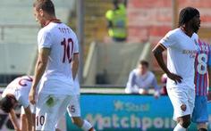 Thua Catania, AS Roma dâng chức vô địch cho Juventus