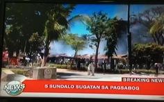 Nổ kho đạn ở thủ đô Philippines, 10 người bị thương