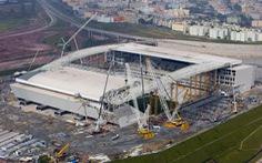 Mái che sân Itaquerao không kịp hoàn tất trước World Cup