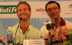 Nick Vujicic trở lại Việt Nam