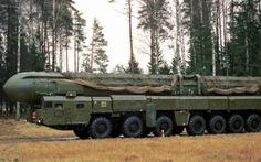 Nga thử tên lửa liên lục địa giữa căng thẳng chính trị