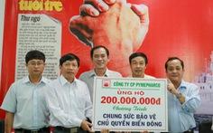"""Công ty Pymepharco và Phú Bài """"Chung sức bảo vệ chủ quyền biển Đông"""""""