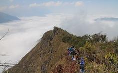 Biển mây trên đỉnh Sừng trâu