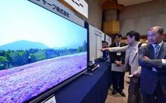 Truyền hình Nhật phát nội dung 4K