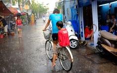 Mùa mưa, trẻ dễ mắc bệnh