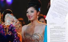Không có quy định tước danh hiệu hoa hậu của Triệu Thị Hà