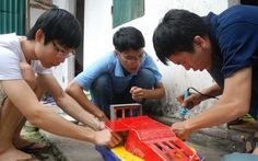 Tàu đệm khí made in sinh viên