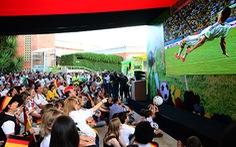Đông vui cùng World Cup ở sứ quán Đức