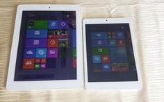 Ra mắt máy tính bảng Windows 8.1 thương hiệu Việt đầu tiên