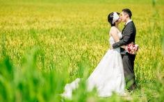 Nam bộ đẹp mê hồn trong ảnh cưới đôi uyên ương Nhật