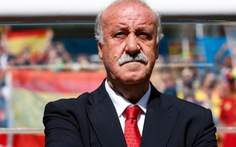HLV Del Bosque tiếp tục dẫn đắt tuyển Tây Ban Nha