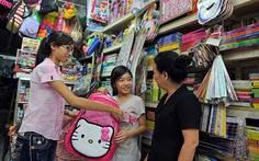 Sắm hàng Việt cho trẻ đến trường