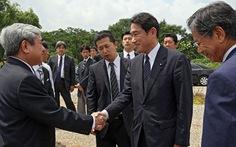 Ngoại trưởng Nhật thăm Khu công nghệ cao Hòa Lạc
