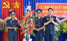 Thành lập hải đội 302 thuộc Vùng cảnh sát biển 3