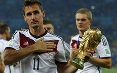 Klose chia tay đội tuyển Đức