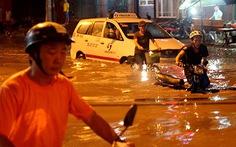 TP.HCM ngập do cống thoát nước lỗi thời